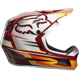 Fox Rampage Comp Reno Casco Full Face Hombre, cardinal